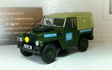 1:43 Scale Model Land Rover Series 2a 3 Lightweight UN British Army Oxford