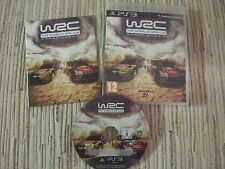 PLAYSTATION 3 PS3 WRC FIA WORLD CHAMPIONSHIP PAL ESPAÑA USADO BUEN ESTADO