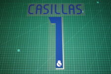 Real Madrid 06/07 #1 CASILLAS Homekit Nameset Printing