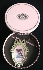 "NIB Juicy Couture New & Genuine Gold ""Let Them Eat Couture"" Picture Frame"