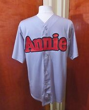 Annie The Musical Embroidered Shirt M Broadway Show League Softball Jersey NYC
