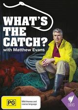 What's the Catch? with Matthew Evans - SBS R4 DVD NEW