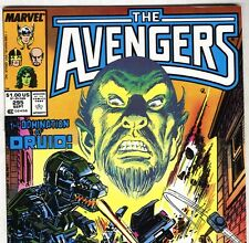 The AVENGERS #295 with Thor & She-Hulk from September 1988 in VF+  con. NS