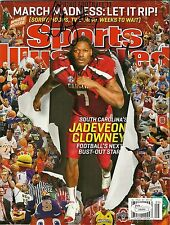 SOUTH CAROLINA GAMECOCKS JADEVEON CLOWNEY SIGNED SPORTS ILLUSTRATED W/ JSA COA