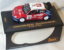 Citroen Xsara WRC #18 S.Loeb - D.Elena Sanremo 2003 1-43 scale new in case
