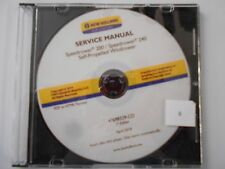 NEW HOLLAND SPEEDROWER 200 240 SELF - PROPELLED WINDROWER SERVICE MANUAL 4/14