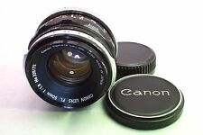 canon 50mm f1.8 FL manual focus lens