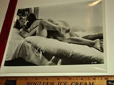 Rare Original VTG Period 2 Risque Sexy Gay Women in Bed Love Scene Photo