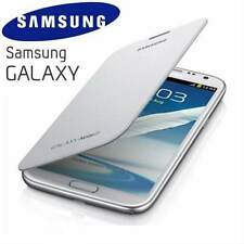 Genuine Samsung Galaxy Note 2 N7100 Original Flip Cover Case EFC-1J9FWEG | White