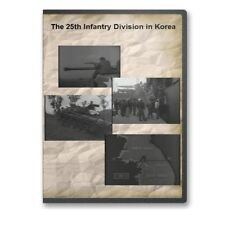The 25th Infantry Division in Korea Korean War Documentary DVD - A757