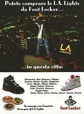 X0892 L.A. Lights - Foot Locker - Pubblicità del 1995 - Vintage advertising