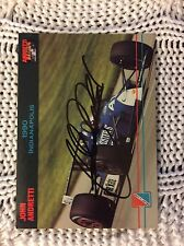 Signed Trading Card Indy 500 Car John Andretti Nascar Autographed