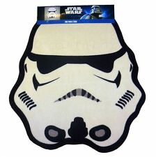 STAR WARS TROOPER SHAPED FLOOR RUG KIDS 100% OFFICIAL NEW FREE P+P