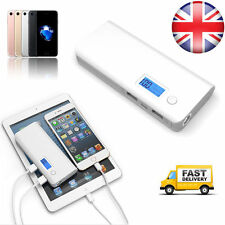 50000mAh Portable 2-USB Battery Charger LCD Mobile Power Bank For Iphone Samsung