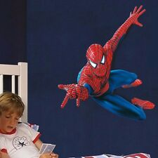 Super Hero Spider-man Mural Vinyl Wall Decal Sticker Kids Nursery Room Decor DIY
