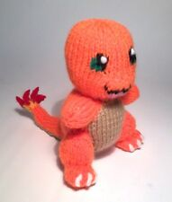 Pokemon go: charmander knitting pattern, enfant safe