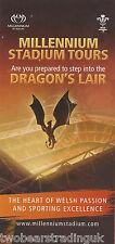 Information Guide: Millennium Stadium Tours, Cardiff (2014)