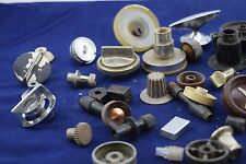 Vintage Mixed Radio Knobs & Handles Variety of Singles and Unusuals # 14 I5