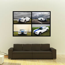 Dodge Hemi Challenger Giant Poster Muscle Car Collage Print Huge 54x36 Inches