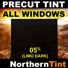 Precut All Window Film for Ford Focus 4dr 00-07 05% Limo Tint