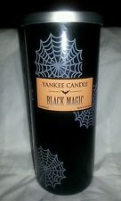 Halloween Yankee Candle Black Magic 20 Oz Pillar Wax Authentic Scented Limited