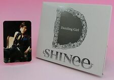 CD SHINee Dazzling Girl JAPAN Limited Edition TYPE-B with Photo Card Jonghyun