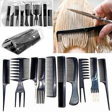 10x Profi Friseur Set Salon Kamm Friseurkamm Kunststoff Friseurbedarf