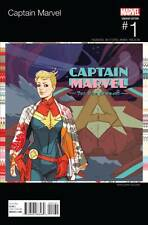Captain Marvel 1 Hip Hop variant Marvel re-launch incentive Sauvage