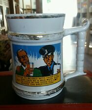 PRINCE WILLIAM TANKARD 1 PINT - THE BREATHALYSER MADE IN ENGLAND found in loft