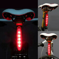 5 LED Bicycle Bike MTB Laser Safety Warning Tail Flashlight Light Lamp Red