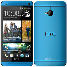 4.7'' HTC One M7 32GB 3G GPS WIFI Libre Android OS TELEFONO MOVIL Azul Blue