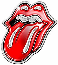 The Rolling Stones Tongue Logo Miniature Enamel Pin Badge 100% Official Licensed