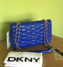 DKNY Gstrapvoort Flap Blue Shoulder Bag Crossbody Bag