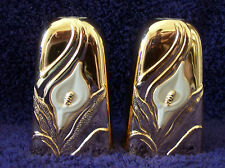 Calla Lillies - Art Deco set of Salt and Pepper Shakers S&P