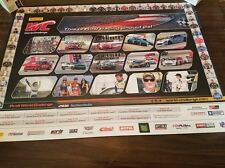 2016 PIRELLI WORLD CHALLENGE POSTER JOHNNY O'CONNELL,JACK ROUSH, JAMES DAVISON