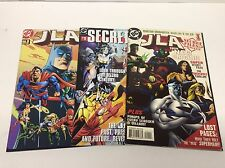 JLA SECRET FILES & ORIGINS #1-3 (DC/1997-2000/FLASH/BATMAN/0515241) SET LOT OF 3