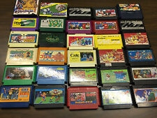 30 Nintendo Famicom Games Lot FC/NES Wholesale lot M Dragon Buster II Xevious