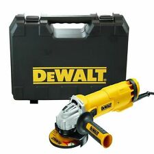 "Heavy Duty A 110V DEWALT dwe4206k 1010W 4,5 "" 115mm ELECTRIC SMERIGLIATRICE ANGOLARE E CUSTODIA"
