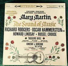"The Sound of Music Mary Martin Original Broadway Cast LP1959 12"" 33 RPM Columbia"