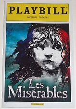 Les Miserables Broadway Playbill Opening Night + Ads (March 2014)