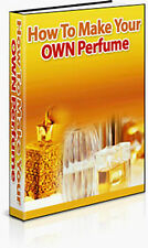 How To Make Your Own Perfume + Soap & Candle Making on CD Rom