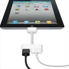 720P 30 Pin Dock Connector To HDMI AV HDTV Adapter for iPad 2 3 iPhone 4s White