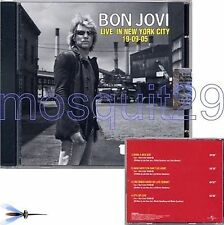 "BON JOVI ""LIVE IN NEW YORK"" RARE CD MAXI ITALY ONLY"