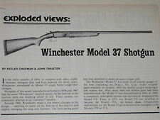 WINCHESTER MODEL 37 SHOTGUN EXPLODED VIEW