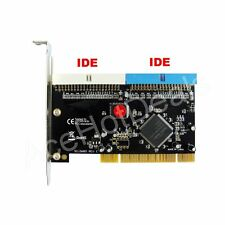 PCI 32bit to 2 ports Ultra ATA 133 IDE Raid Controller Card Sil0680 Windows 7