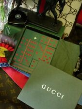 Ultra RARE Vintage GUCCI Lucite DOMINOE Game Set Barware Library Holiday Gift GG
