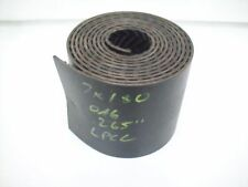 "7"" x 180"" Conveyor rubber incline flat flexco belt lacer repair"