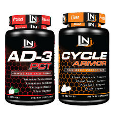 AD-3 PCT + Cycle Armor by Lecheek - Muscle Supporting Combo (60 Capsules Each)
