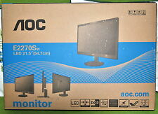 AOC Pro-line E2270SWDN 21.5 LED LCD Monitor Resolution 1920 x 1080 Full HD