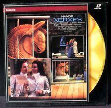 LSD / CLV Handel / Haendel Xerxes Mackerras 88 2 laserdisc PAL NM